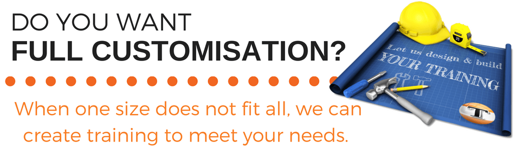 Do you need customised staff training created?