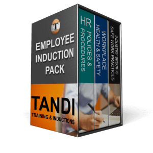 TANDI LMS Online Employee Induction Training Package
