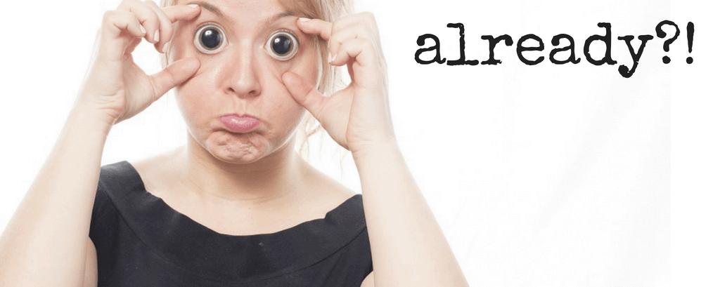 Fatigue & the Silly Season