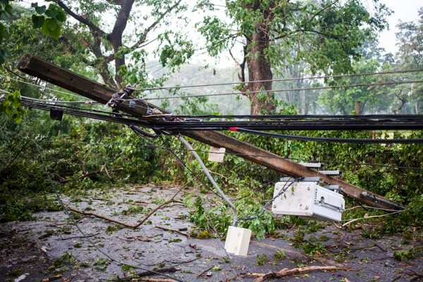 storm damage and safety