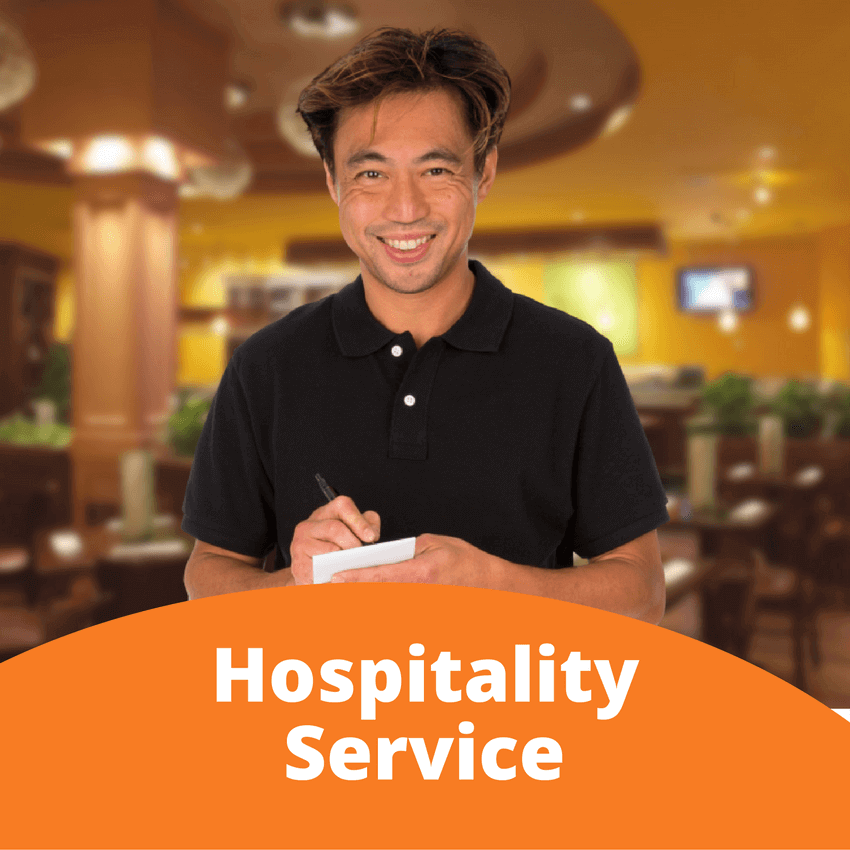 Hospitality Service Personnel Safe Work Practices training