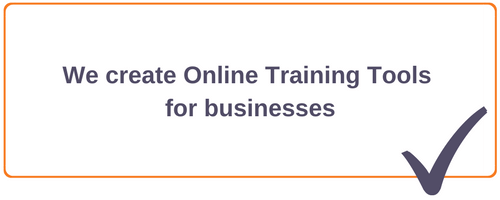 Online training tools for businesses