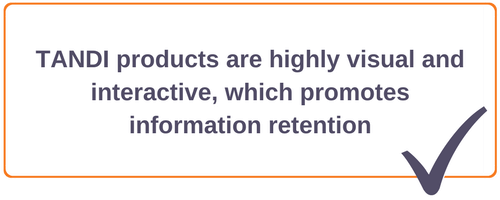 Training that promote information retention