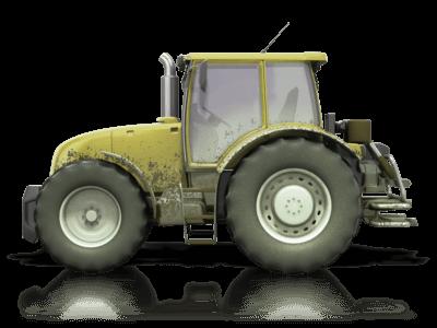 old green tractor TANDI