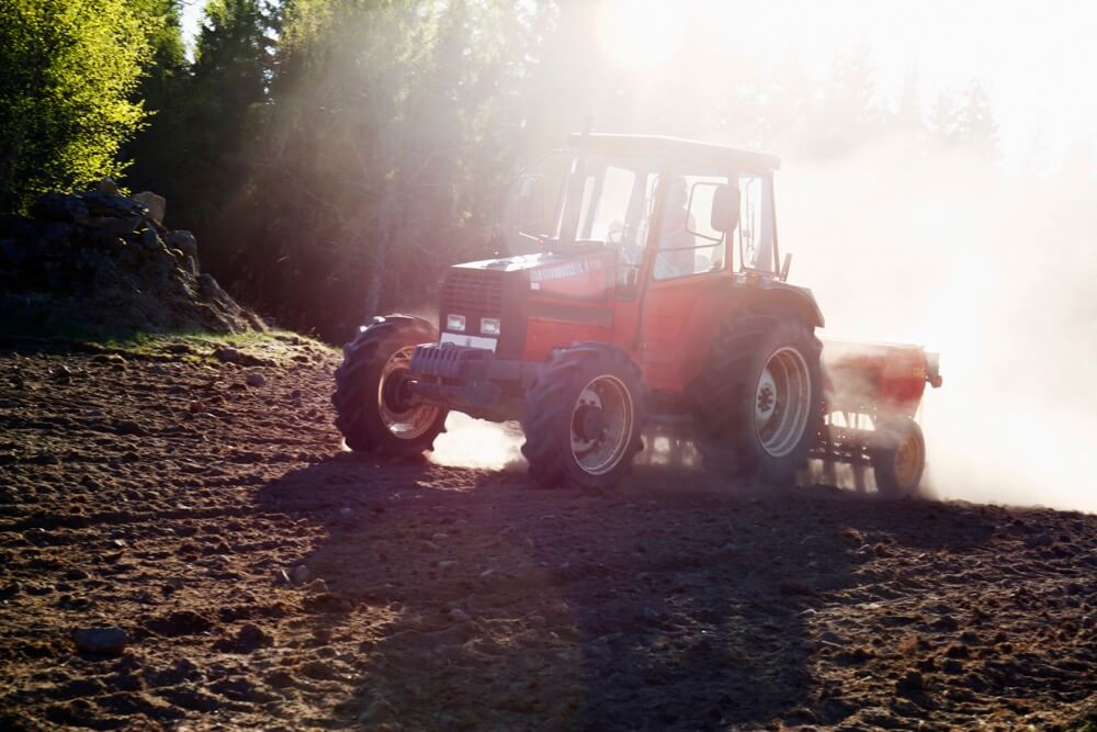 red tractor for TANDI employee training