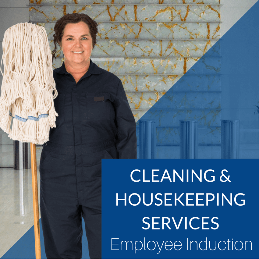 Cleaning and Housekeeping Services Employee Induction