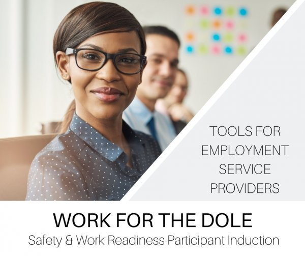 Work for the Dole Participant Induction