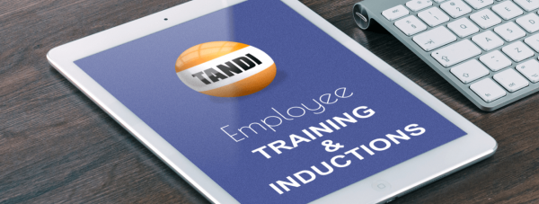 TANDI Employee Training and Inductions 1320 x 500