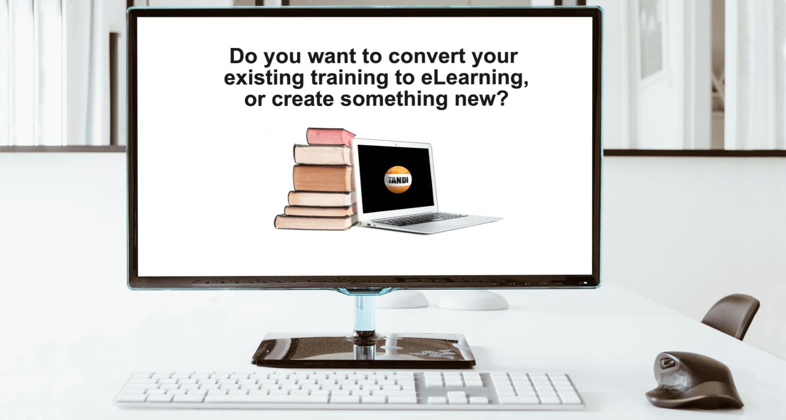 TANDI for customised training