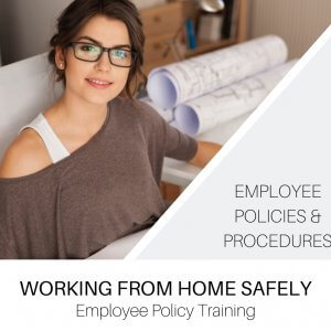 Working from Home Safely Employee Policy